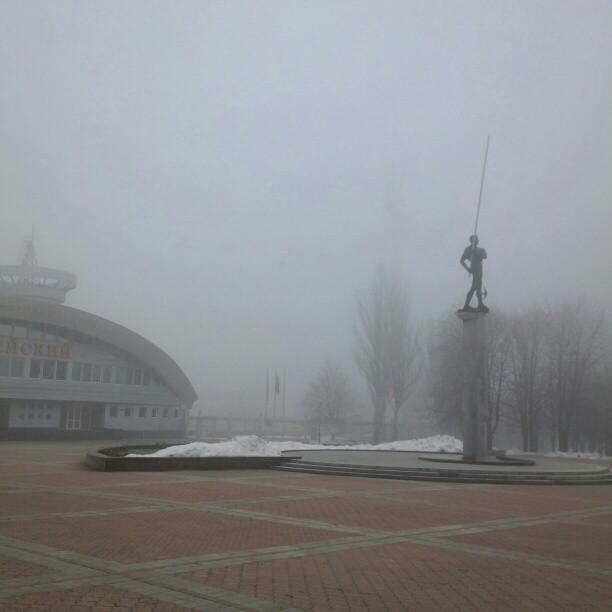 #govoritdonetsk Бубка в тумане
