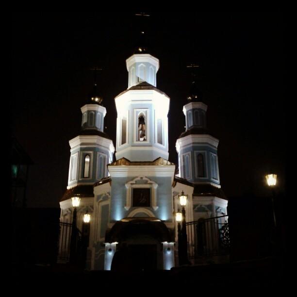 Церковь во дворе! #govoritdonetsk