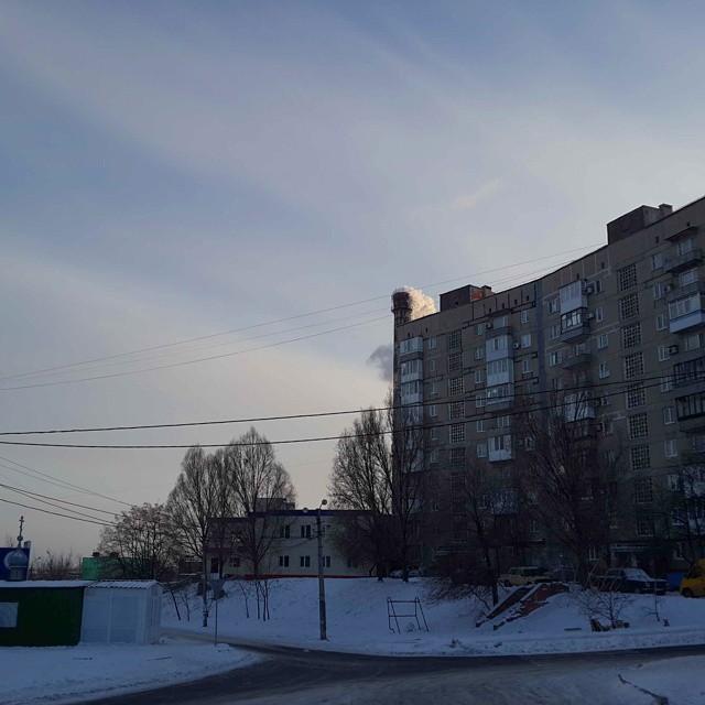 #winter #donetsk #instadonetsk #fromdonetsk #snow #донецк #зима #типичныйдонецк