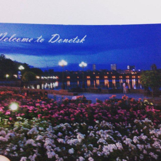 Thanks for the postcard @anastasiatl  I loved it !!! #postcard#fromdonetsk#photography#warstories#arrived