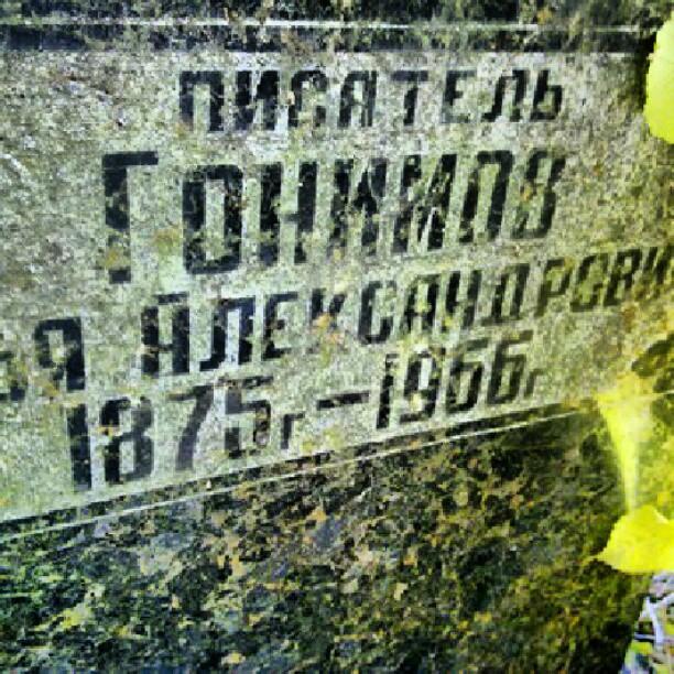 Могильная плита писателя Ильи Гонимова - автор книг Старая #Юзовка и #Шахтарчук #Гонимов #Донецк #Украина #Памятник #Gonimov ...