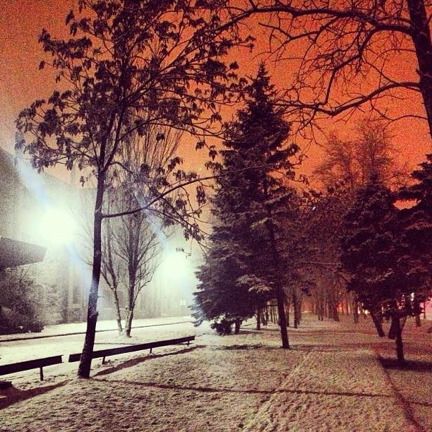 Снова зима! ⛄❄