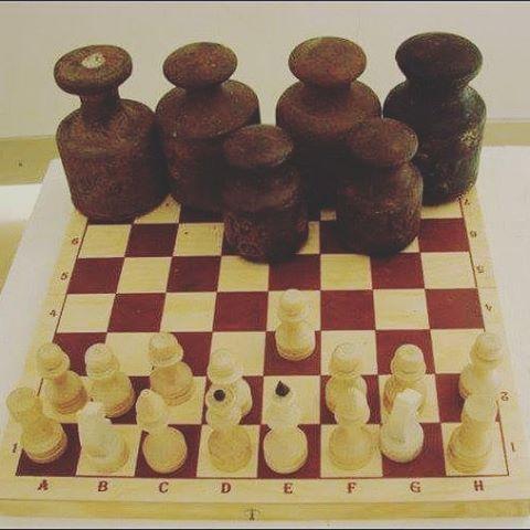У белых #преимущество? Или у черных?  #шахматы #позиция #расклад #fromdonetsk #govoritdonetsk...