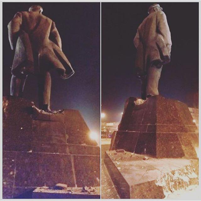 #Памятник #Ленин #Донецк #Lenin #monument #Donetsk #govoritdonetsk #fromdonetsk