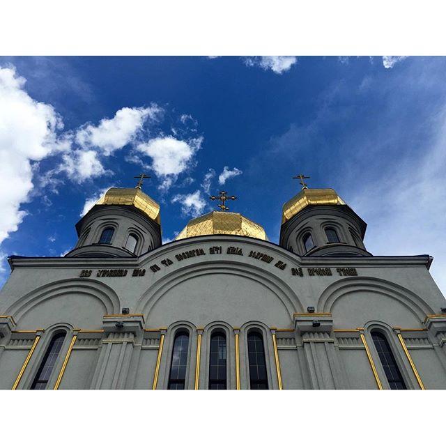 #донецк #типичныйдонецк #instadonetsk #mycity_donetsk #fromdonetsk #i_love_donetsk #church #buildings #streetphotography #iph...
