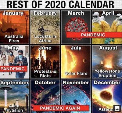 #Календарь на 2020 #fromdonetsk