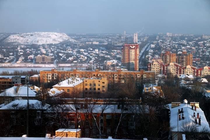 """#Зима на """"Донской"""" стороне - так назвал это #фото его #автор Геннадий #Казаков #Донецк #fromdonetsk #Donetsk..."""