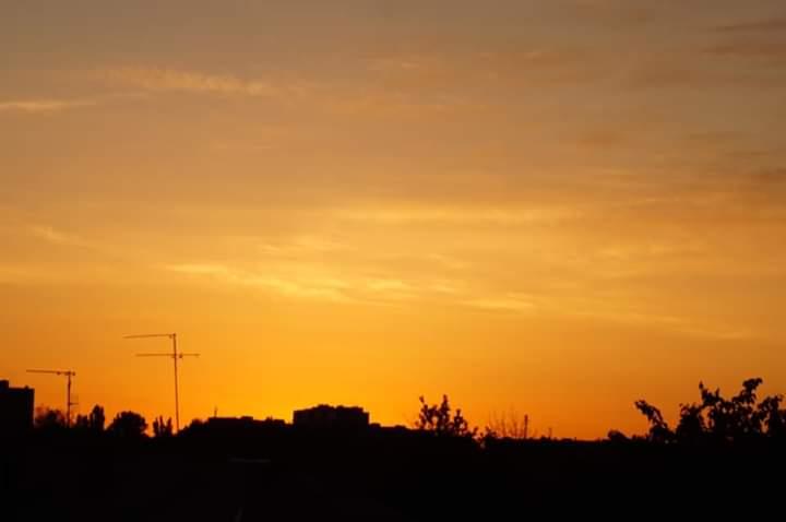Медовый #закат лета - фото Елена #Вишневская #fromdonetsk