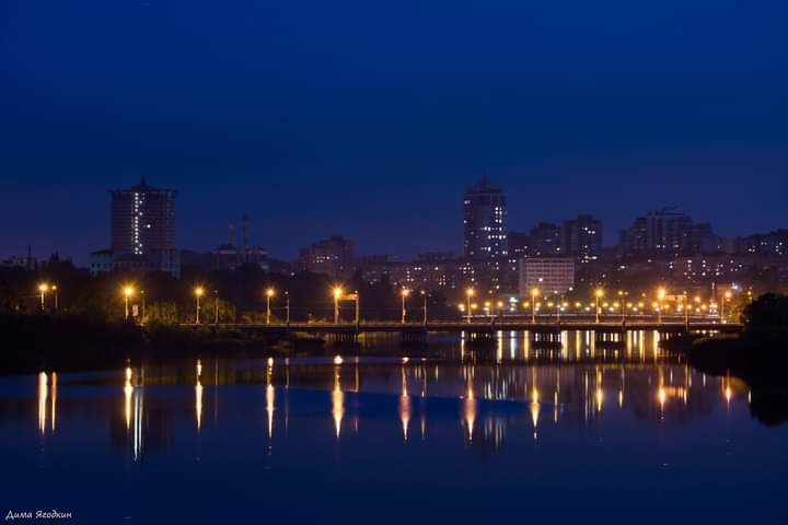 Вечерний #Донецк - #фото Дмитрий #Ягодкин #город #Donetsk #fromdonetsk