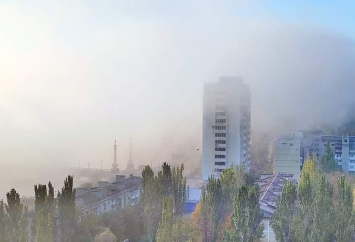 #Октябрь окутывает #Донецк - так назвал это #фото его автор Равиль #Акмаев #Donetsk #fromdonetsk #Осень...