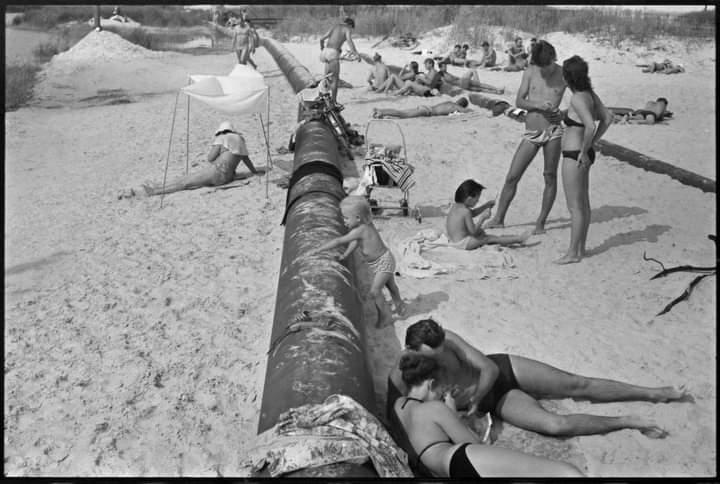 #Донбасс. Авдеевский песчаный #карьер. 1988. #фото Владимира Лалакина #Донецк #fromdonetsk #Авдеевка...
