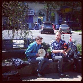 Последняя #гастроль группы #Jolly's #музыка #волынка #Донецк #Украина #Ukraine #Donetsk #musics #pipe #govoritdonetsk...