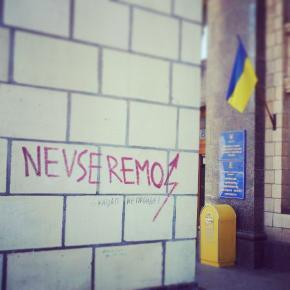 На #Майдан #Киев #Украина #euromaidan #eurolution #Kyiv #Ukraine #govoritdonetsk  @ Maidan Nezalezhnosti http://instagram.com...