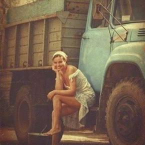 Сельские #будни by Наталья #Федорова #pinup #pinupgirl #vintage #fromdonetsk #girl #девушка