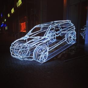 Я б прокатился :D   #night #nightcity #winter #car #donetsk #fromdonetsk #auto #magic