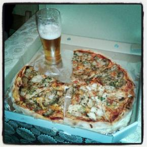 Мой вкусный приз от GoodiniPizza! Спасибо! #govoritdonetsk