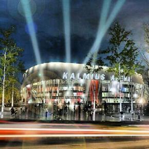 #Кальмиус #Арена будет построена на перекрестке проспекта Дзержинского и улицы Левобережной к #Евробаскет #2015 #хоккей #баскетбол #Донецк #Украина #govoritdonetsk #Ukraine #Donetsk #basketball #hockey #Arena #Kalmius