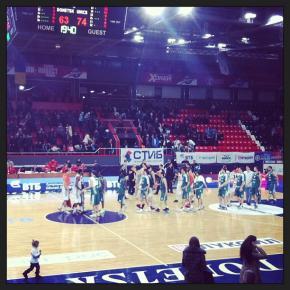 БК Донецк - Уникс 63:74 #уникс #бкдонецк #донецк #баскетбол #втб #украина #россия #russia #donetsk #bcdonetsk #basketball #vt...