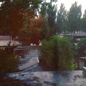 снег 3го октября. зашибись! #снег #осень #донецк #пипец #погода #donetsk #snow #fall #autumn #weather #fromdonetsk...
