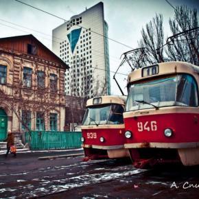 Десятая #марка #фото #подарок #Анатолий #Спица #трамвай #Донецк #Украина #FromDonetsk #Ukraine #Donetsk #Fanatoly...