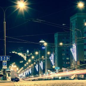 фото сделала моя близкая подруга Варвара. я не могла не поделиться такой красотой! #donetsk #city #night #nightcity #cityligh...