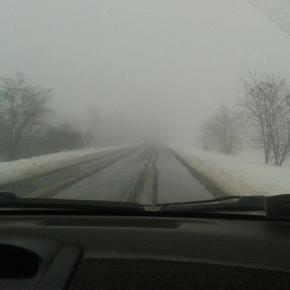 Вот это зима! Туман как молоко! #govoritdonetsk