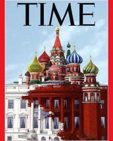 Белый дом и #Кремль. Должны были выйти, как #newyorker раньше, назвавшись #Время #frontpage #fromdonetsk #magazine #журнал #T...