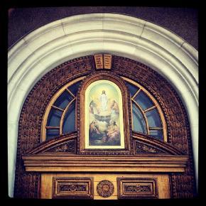 Впервые побывал в Свято-Преображенском кафедральном. Исполнено все в лучшем виде #собор #Донецк #Украина #Ukraine #Donetsk #F...