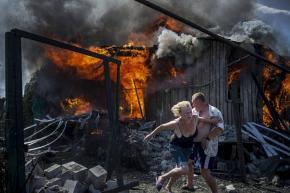 Черные дни Украины.  Валерий #Мельников, фотограф информационного агентства российского правительства, занял первое место в к...