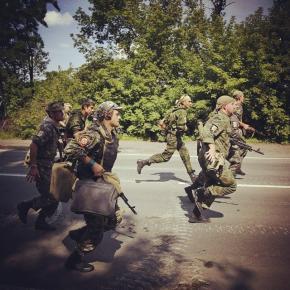 В Донецке продолжается отступление бойцов #ДНР. Как заявил Игорь Стрелков, республиканцы оставили Карловку, Кожевню и Червону...