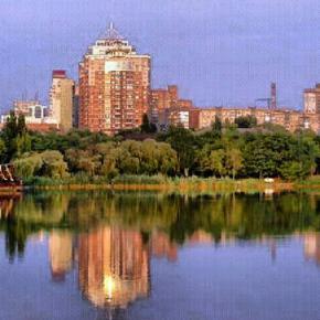 Дома над #Кальмиус #Донецк #Украина #Donetsk #Ukraine #govoritdonetsk