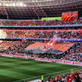#Шахтер - #чемпион в четвертый раз подряд и восьмой в истории! #футбол #Донецк #Украина #Арена #govoritdonetsk #Donetsk #Ukra...