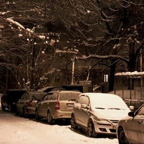 Снежная ночь в Донецке #govoritdonetsk
