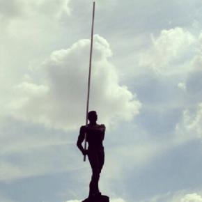 #Памятник Сергею #Бубка #Bubka #Donetsk #Ukraine #govoritdonetsk #Донецк #Украина