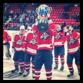 Дмитрий Таросов с победным кубком #trophy #Donetsk #Druzhba #HCDonbass2 #hockey #PHL #govoritdonetsk #Донецк #Дружба  #ХКДонб...