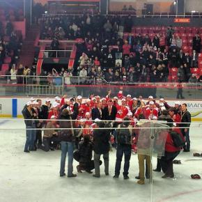 #HCDonbass стал чемпионом #ПХЛ Украины во второй раз подряд! #govoritdonetsk #hockey #Donetsk #Ukraine #Донецк #Украина #хокк...