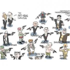 """Эту картинку постят в качестве """"все, что вы хотели знать про ситуацию на Ближнем Востоке, но боялись спросить"""". Знаю, что #б0..."""