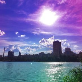 #donetsk #fromdonetsk #kalmius #river #instadonetsk #типичныйдонецк #sky #citylife #citystreetsphoto #streetphoto #citystreet...