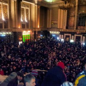 #Киев- Пассажирский #сегодня прекрасен #govoritdonetsk #transport #crowd #Kyiv