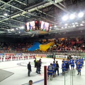 #Украина добыла волевую победу над сборной Польши, вместе с ней и место в группе В первого дивизиона #Донецк #хоккей #govorit...