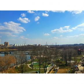 #donetsk #instadonetsk #fromdonetsk #типичныйдонецк #пасха #easter #city #clouds #sky #citystreets #streetphoto #park...
