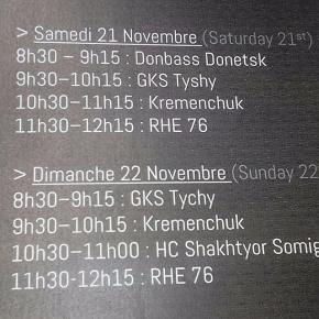 Плотное расписание спортивных баров Руана #HCDonbass #HCShakhtyor #HCKremenchug #rhe76 #fromdonetsk #govoritdonetsk...