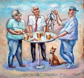"""""""Есть что вспомнить"""" , - написал в сопроводительной публикации к своей работе донецкий #художник Равиль #Акмаев #Донецк #фото..."""