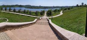 Спуск к Кальмиусскому водохранилищу - #фото Геннадий #Казаков #fromdonetsk