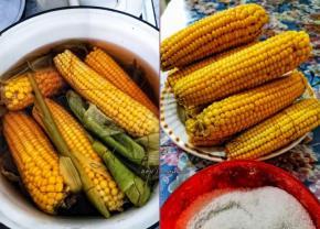 Ем от пуза кукурузу, потому, что нравится! Да и всем она по вкусу - жёлтая красавица!  #5августа2020 #5рубкачан - пишет ...