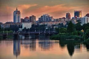"""""""Эта часть Кальмиуса и посадка не так ухожена, как парк Щербакова, но я очень люблю это место. Пусть колючки и репяхи прилипа..."""